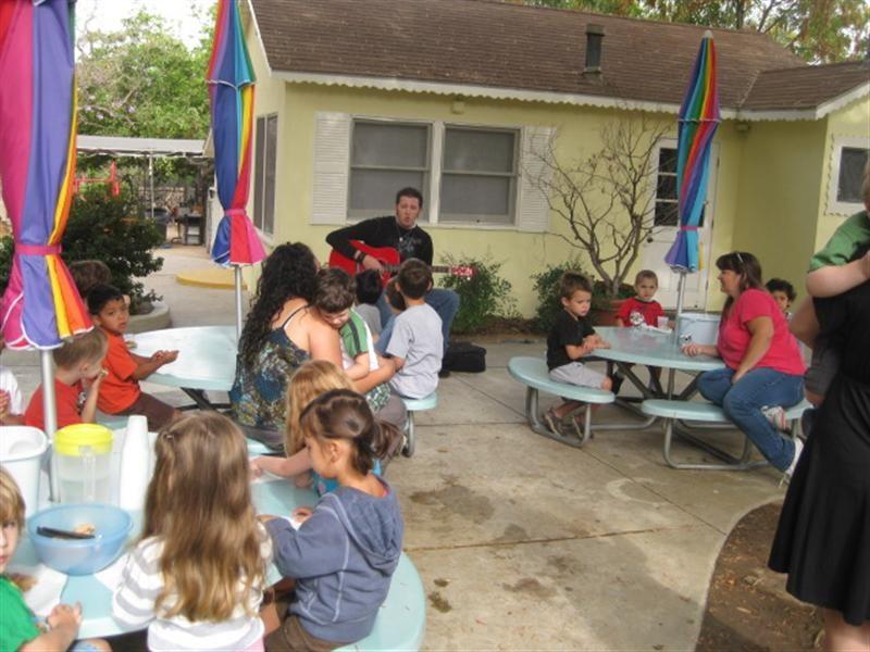 preschool music week parent involvment
