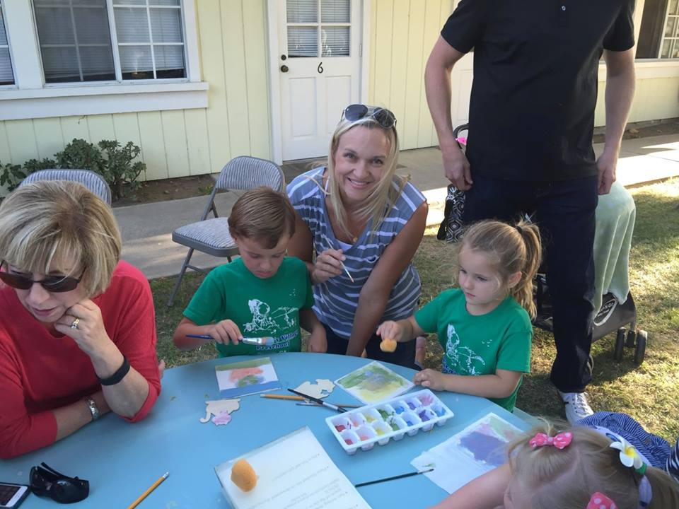family tile making night at CV preschool (4)