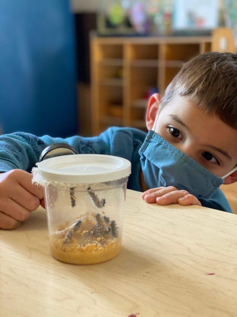 Orange, CA childcare center Earth Day
