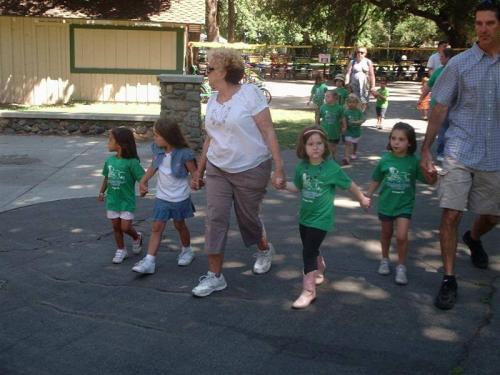 childrens village of orange preschool at irvine park field trip